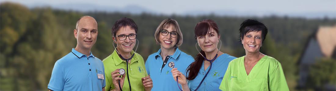 Hausarztpraxis Regiodocs Eschbronn Team MFA + Ärzte