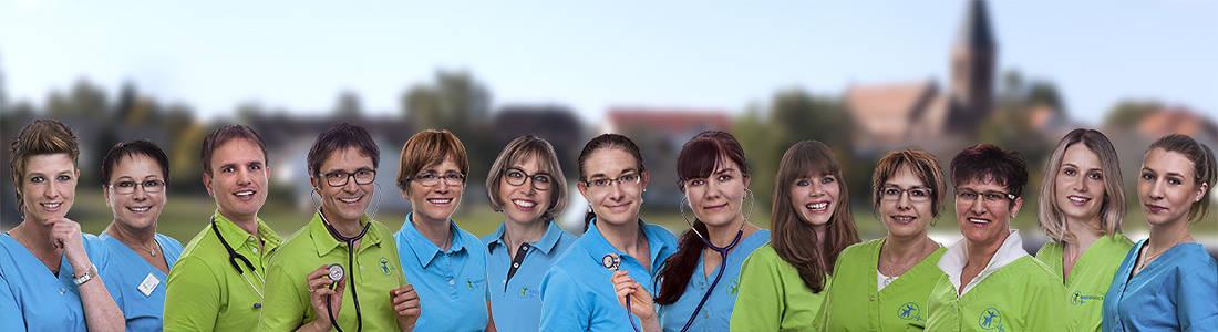 Hausarztpraxis Regiodocs Hardt Team MFA + Ärzte