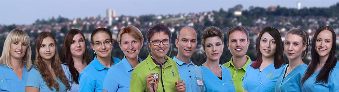 Hausarztpraxis Regiodocs Sulgen Team MFA + Ärzte